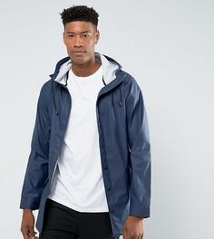 Темно-синяя непромокаемая куртка ASOS TALL - Темно-синий