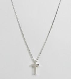 Серебряное ожерелье с крестом Seven London - Серебряный