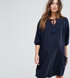 Платье с кисточками Gebe Maternity - Темно-синий