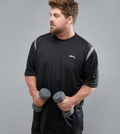 Спортивная футболка Slazenger Plus - Черный