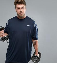 Спортивная футболка Slazenger Plus - Темно-синий