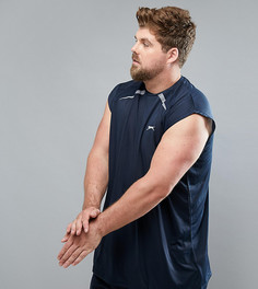 Спортивная майка без рукавов Slazenger Plus - Темно-синий
