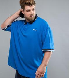 Футболка-поло Slazenger Plus - Синий