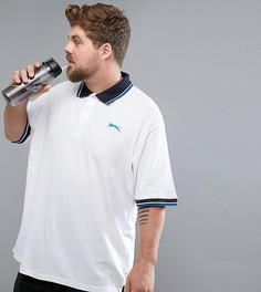 Футболка-поло Slazenger Plus - Белый