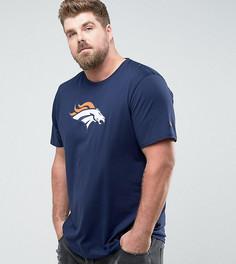 Темно-синяя футболка New Era PLUS NFL Denver Broncos - Темно-синий
