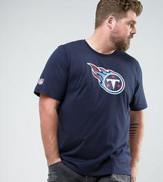Темно-синяя футболка New Era PLUS NFL Tennessee Titans - Темно-синий