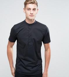 Рубашка с короткими рукавами Only & Skinny - Черный