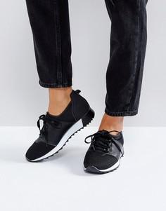 Кроссовки на шнуровке для бега Truffle Collection - Черный