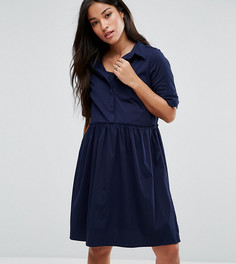 Платье-рубашка для кормления Mamalicious - Темно-синий Mama.Licious