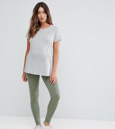 Леггинсы для беременных ASOS Maternity - Зеленый