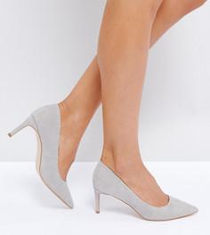 Туфли на каблуке ASOS SOULFUL - Серый