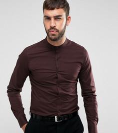 Рубашка суперузкого кроя с воротником на пуговицах Only & Sons - Красный