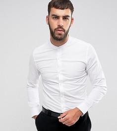 Рубашка суперузкого кроя с воротником на пуговицах Only & Sons - Белый