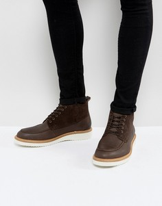 Коричневые ботинки чукка Selected Homme Rud - Коричневый