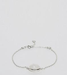 Серебряный браслет с лунным камнем Carrie Elizabeth - Золотой