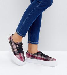 Туфли на плоской платформе ASOS DINA - Мульти