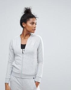 Спортивная куртка с логотипом Puma T7 - Серый
