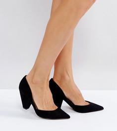 Tуфли для широкой стопы с острым носком ASOS SULPHUR - Черный