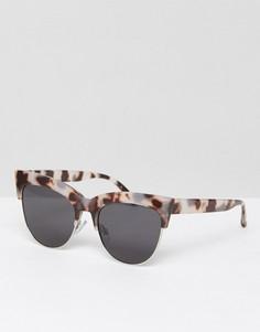 Солнцезащитные очки кошачий глаз в черепаховой оправе ALDO - Коричневый