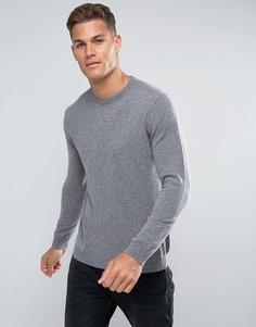 Серый джемпер из 100% мериносовой шерсти United Colors of Benetton - Серый
