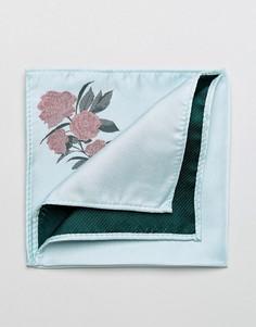 Синий платок для нагрудного кармана ASOS - Синий