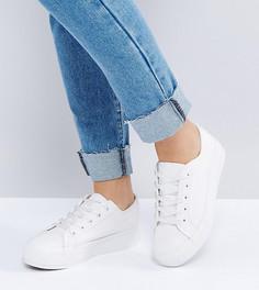 Кроссовки для широкой стопы New Look - Белый