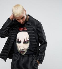 Черная рубашка в полоску Reclaimed Vintage Inspired - Черный