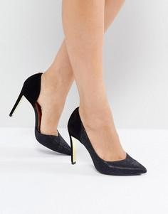 Туфли на высоком каблуке с острым носом Ted Baker - Черный