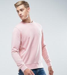 Свитшот с вышивкой на груди Jack & Jones Originals - Розовый