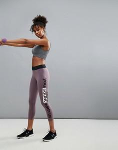 Спортивные леггинсы длиной 3/4 Only Play - Фиолетовый