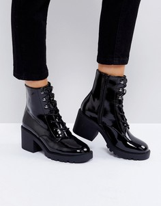 Ботинки со шнуровкой ASOS RORY - Черный