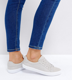 Кроссовки на шнуровке ASOS DEVLIN - Серый