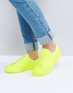 Кроссовки со шнуровкой ASOS DANGER - Желтый