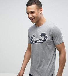 Футболка с надписью California Produkt - Серый