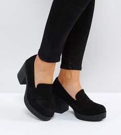 Туфли на каблуке для широкой стопы ASOS OFFBEAT - Черный