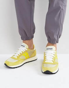 Желтые кроссовки Saucony Jazz Original Vintage S70368-2 - Желтый