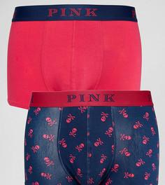 Набор из 2 боксеров-брифов Thomas Pink - Розовый