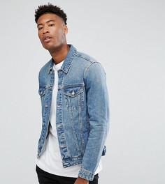 Светлая джинсовая куртка ASOS TALL - Синий