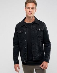 Джинсовая куртка Loyalty and Faith - Черный