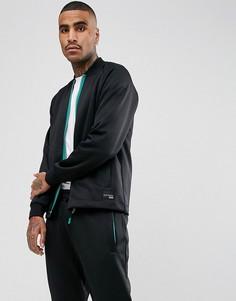 Черная спортивная куртка adidas Originals EQT Hawthorne BQ2075 - Черный