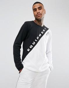 Белый лонгслив adidas Originals EQT BQ2096 - Белый
