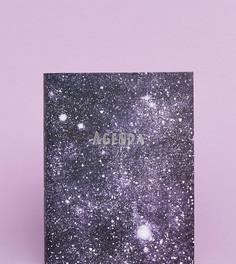 Ежедневник с принтом звездного неба на обложке эксклюзивно для Ohh Deer - Мульти