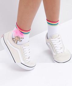 Носки с полосками ASOS Troll - Белый
