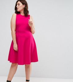 Приталенное платье Pink Clove - Розовый