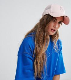 Розовая кепка из дышащей ткани с сетчатой вставкой New Era 9Forty - Розовый