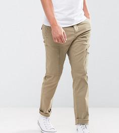 Узкие брюки карго с молниями на карманах Only & Sons - Белый