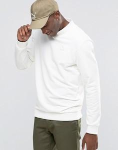 Свитшот с круглым вырезом Puma Preppy - Белый