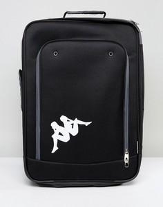 Чемодан с логотипом Kappa Cartona - Черный