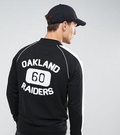 Флисовая куртка с принтом на спине Majestic эксклюзивно для ASOS - Черный