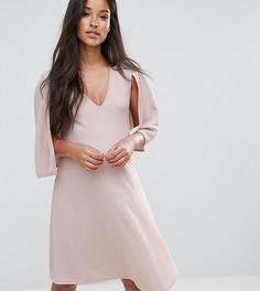 Свободное платье-кейп Bluebelle Maternity - Бежевый